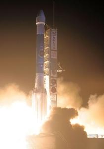 Delta II z satelitą bloku IIR(M) w sierpniu 2009 roku